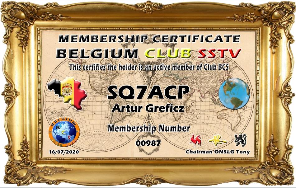 Belgium Club SSTV