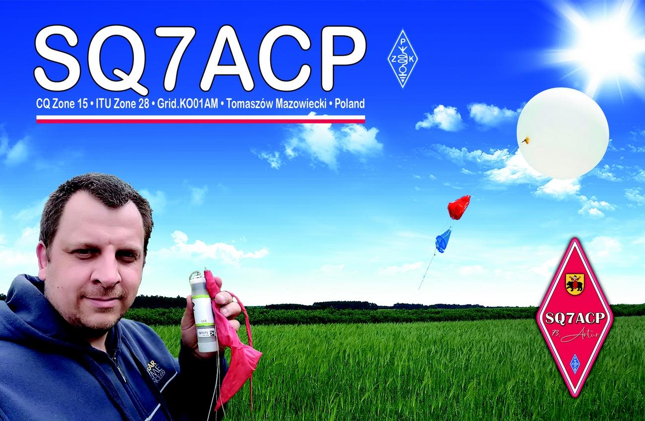 SQ7ACP QSL