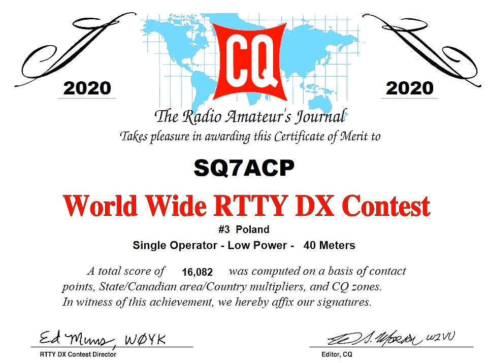 SQ7ACP CQ WW RTTY
